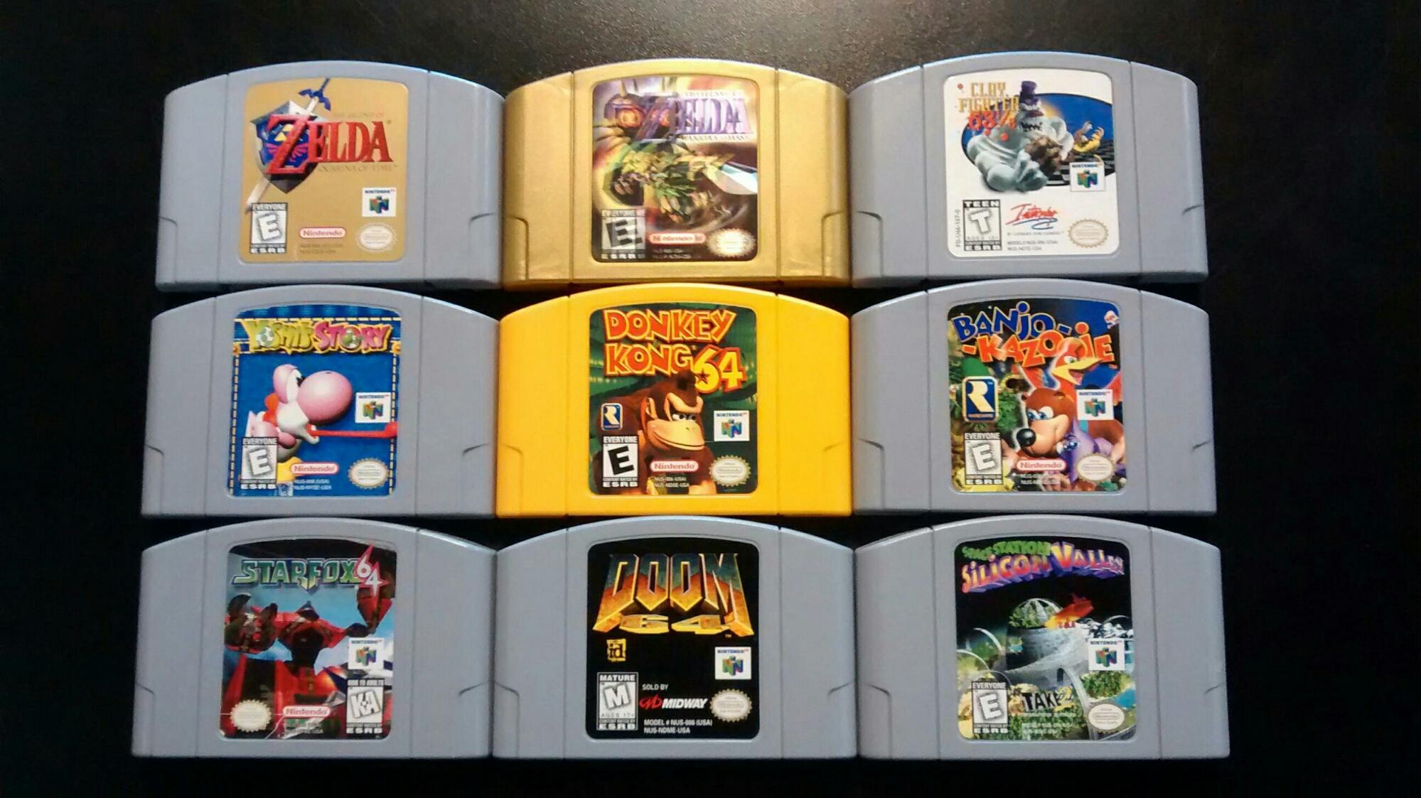 Nintendo 64 deals